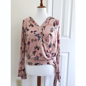 Abercrombie & Fitch floral print blouse